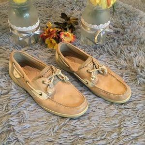 Sperry Top Sider Blue Fish 2 eye Size 10M